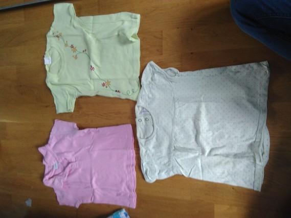 T shirt ( rose taché)