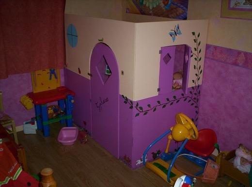 La cabane dans la chambre de ma fille mes r alisations for Cabane dans la chambre