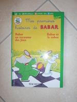 Livre Les premières histoires de Babar - 2€ tbe