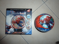 Puzzle ball 96 pièces SPIDERMAN 3 - 5€ be