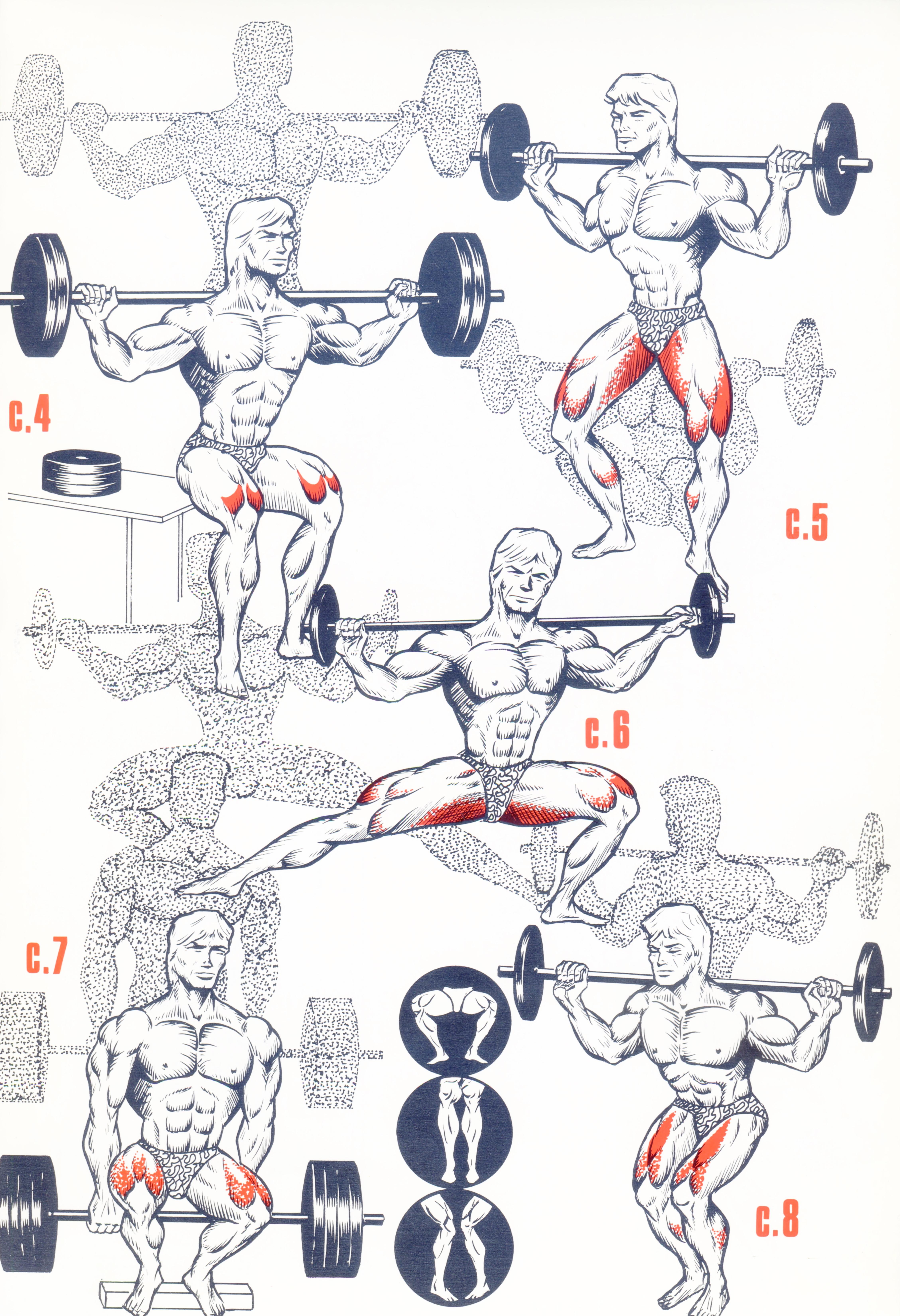 exercice gym jambes