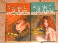 Virginia C. Andrews : La Famille de Beers Tomes 1 et 2 - 7 Eur. le lot