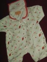 Combinaison Mini Adélie - 3 mois