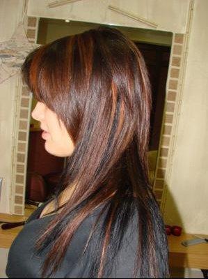 Coiffure tendance coiffure et coloration forum beaut - Quelle couleur faire sur des meches blondes ...