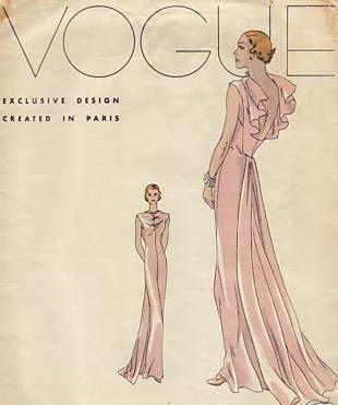 vogue1930dresspattern