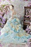 light-blue-wedding-dress