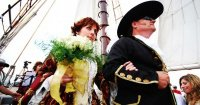 pirate-wedding-aisle-walk