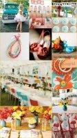 rust_sunflower_aqua_wedding_mexican_fiesta_theme