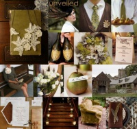 olive-green-brown-cream-vintage-wedding-inspiration-board1