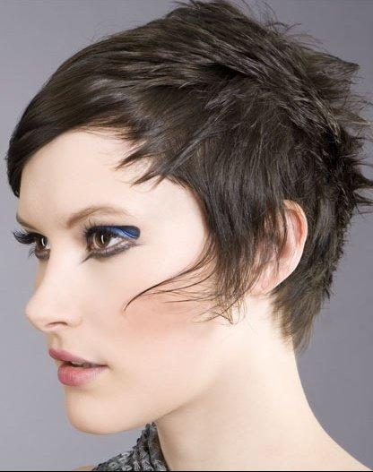Vos coupes courtes coiffure et coloration forum beaut for Coupe de cheveux punk iroquois