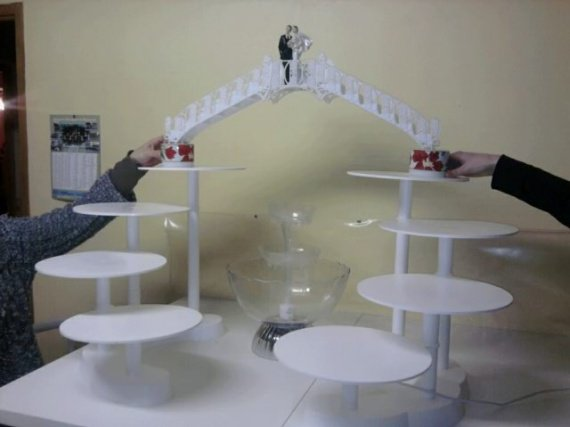 Pr sentoire pour mes gateaux mariage colombine062 photos club doctissimo - Presentoire gateau mariage ...