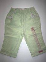 Pantalon vert anis - 12 mois - 1€