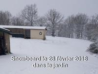 snowboard maison 28 fév 2018