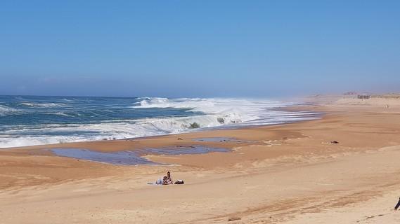 plage centrale hossegor 14 avril 2018