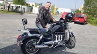 ROCKET 3 -2300 cc-the big motor ;-)
