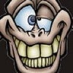 sourire idiot