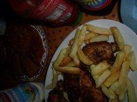 Poulet roti & frites maison