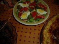 Salade sauce vinaigrette maison