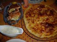 Saumon grillé et sauce oseille