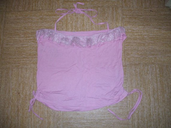 Top rose  taille L 3e