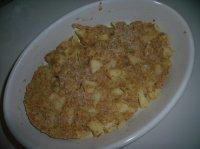 Pudding aux pommesCONSO