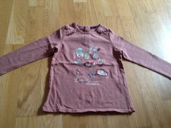T-shirt ML sergent major 4 ans