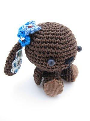 Amigurumi lapin chocolat2