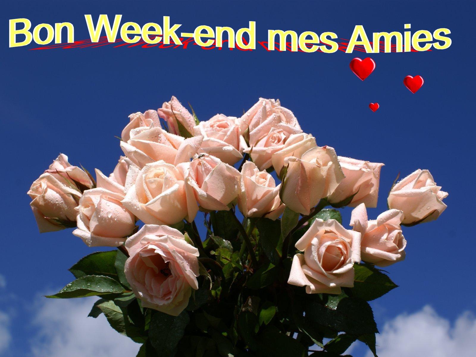 Bon week end tous et toutes mes amies maurice doctissimo - Bon week end a tous ...