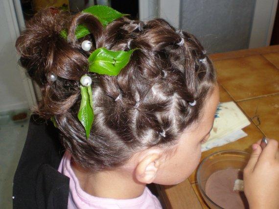 Coiffure mariage pour petite fille 9 ans - Coupe de mariage pour petite fille ...