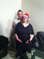 papa et maman à Noel 30SA