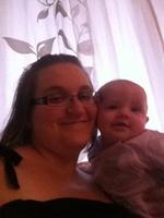 Maman et Laurène 5 mois
