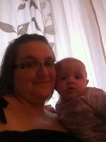 Laurène 5 mois et maman