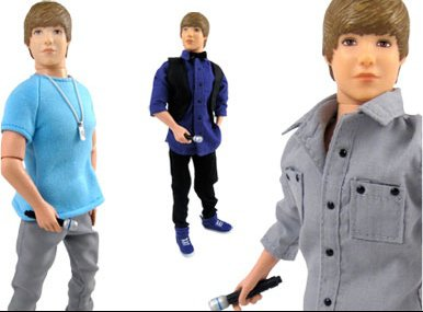 Justin Bieber poupée