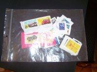 Pochette de timbre déjà utiliser