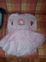 DON Chemise de nuit de princesse 4 ans