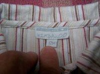 Vue de l'étiquette chemise