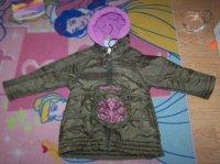4€ Manteau 26 mois  bon état sauf voir photo suivante