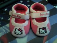 8€ Chaussures Hello Kitty T16  NEUVES