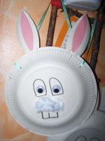 Panier de Pâque Lapin ( avec modèle )