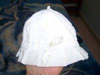 2€ Chapeau blanc 45 cm