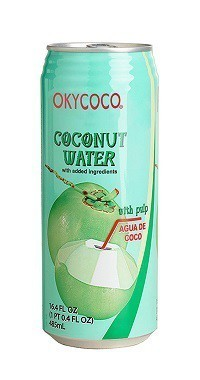 organic coconut water juice 498ml from okyalo