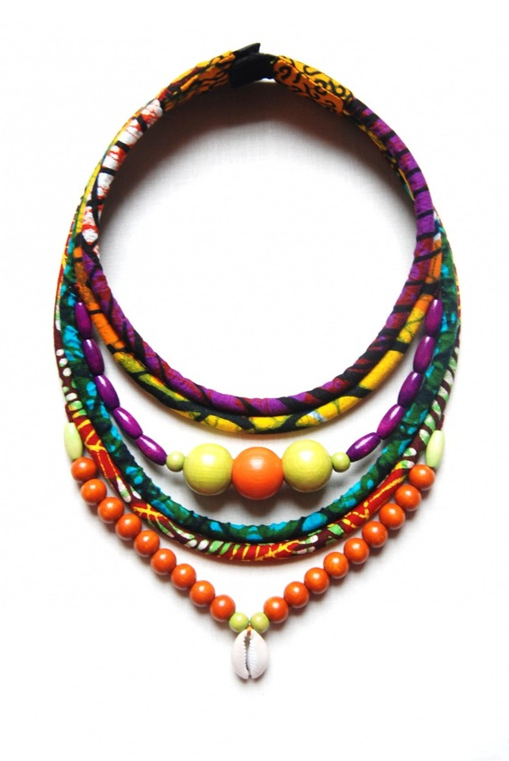 collier ethnique femme