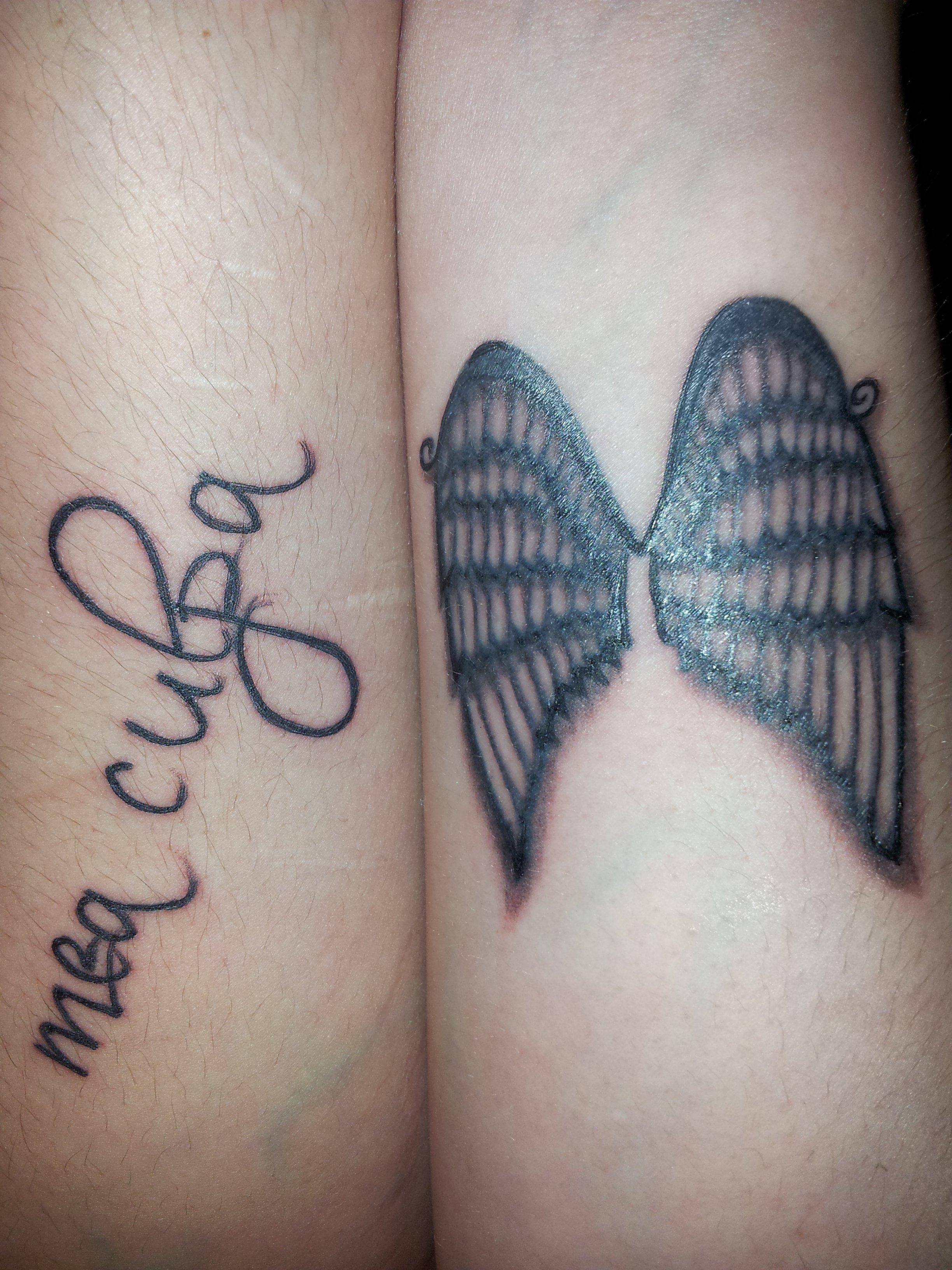 Tatouage Aile D Ange Avant Bras Ange De Tatouage Sur La