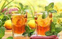 Thé à la menthe pour la vitalité!