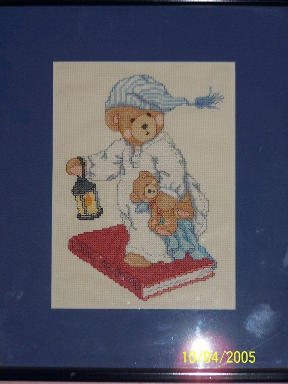 Tableau de naissance au point de croix louis mes - Tableau de naissance point de croix gratuit ...