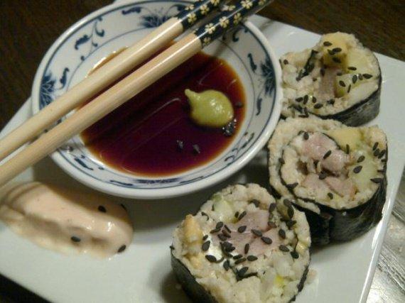 Maki au riz de chou-fleur