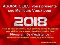 2018 AGORAFOLIES VOEUX