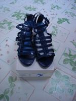 Sandales à talons bleu La redoute T 41 Neuves avec boîte 1