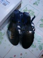 Sandales à talons bleu La redoute T 41 Neuves avec boîte 4