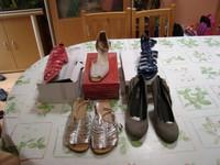 Lot 5 paires sandales chaussures été pointure 41